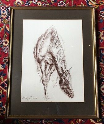 Original Artwork,  Drawing of a Horse By Shirley Pace ��