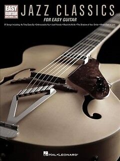 Jazz Classics for Easy Guitar - NEW - 9781495071881 by Hal Leonard Publishing Co
