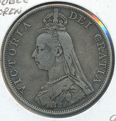 Great Britain Double Florin 1888