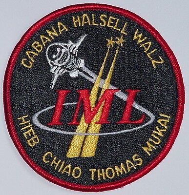 Aufnäher Patch Raumfahrt NASA STS-65 Space Shuttle Columbia ..........A3003