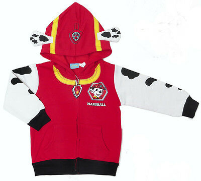 NEW Size 2~6 PAW PATROL MARSHALL RED JUMPER JACKET TOP WINTER OUTFITS KIDS BOY'S
