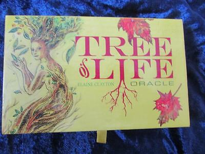 VERY RARE - TREE OF LIFE ORACLE. Tarot Nature Cards Green Man Wisdom