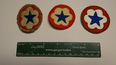 WWII US army patch Staff Support NO GLOW on felt