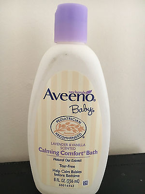 Aveeno Baby Calming Comfort Bath 236ml Free of charge delivery NEW