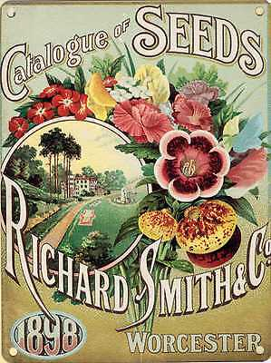 New 30x40cm Smith's Seed Catalogue reproduction vintage metal advertising sign