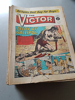 VICTOR COMIC No. 254-306 from 1966 COMPLETE YEAR!