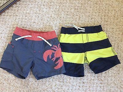 Gap boys swim trunks 6-12 months