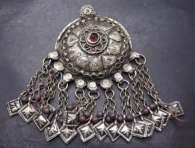 Interesting Large Post Medieval Pendant With Inserts
