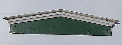 Antique Window Door Header Pediment Shabby Vtg Chic Country 417-17R