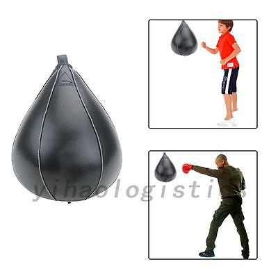 New PU Leather Speed Ball Boxing Punch Bag Training Speed Bag