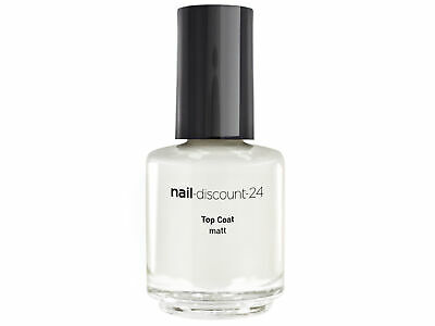 TOP COAT MATT 15ml Überlack Matt Look Effekt Nailart Nagellack NAIL Finish Matte