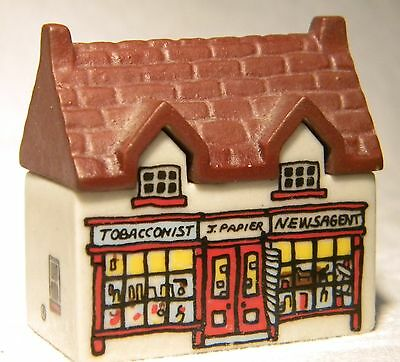 Wade Whimsey-On-Why  Miniature House  Tobacconist Newsagent