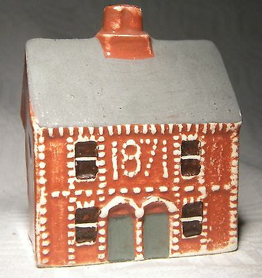 Mudlen End Miniature Pottery Houses Victorian Semi  29H