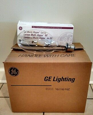 Lot of 6 GE Multi Vapor Lamp MVR400/U  43828 400 Watt M59/S Made in USA