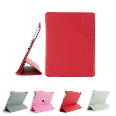 KroO Tri-Fold Folio Cover Case for Apple iPad (2nd, 3rd and 4th Gen)