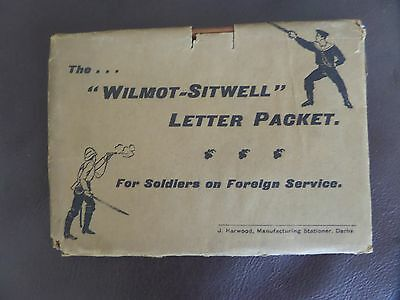 Victorian British Army Wilmot-Sitwell Letter Packet
