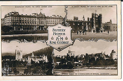 Rotary Photographic Series Postcard  The Stately Homes Of Hm King George 1912