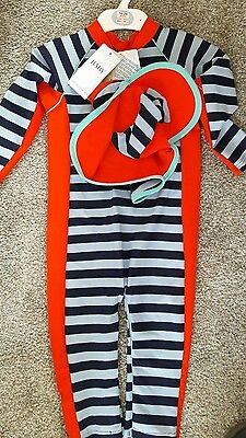 sun protection swimwear bnwt 18-24 months marks and spencer