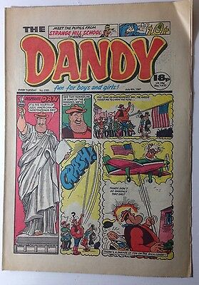 THE DANDY COMIC - 4th July 1987 - 30th Birthday GIFT / PRESENT - (issue: 2380)