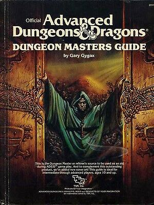 DUNGEON MASTERS GUIDE EXC! #2011 DMG TSR Dungeons Dragons AD&D D&D Game DMs