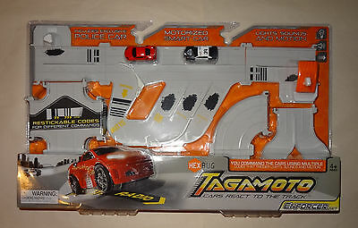 """Hexbug: Tagamoto Enforcer Set """"Code the Road"""" - with Exclusive Police Car! NEW!"""