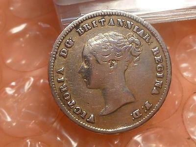 "1862 Victoria 1st Portrait Silver ""Groat"" Fourpence Low Mintage 4,158 #2"