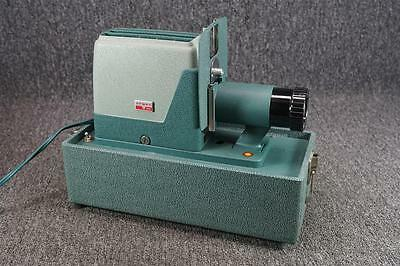 Vintage Argus Slide Projector Model 300 With Integrated Carrying Case.