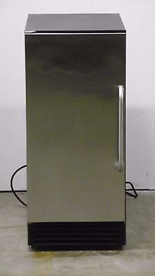 """Summit BIM44G Commercial Series 15"""" Stainless Commercial Ice Maker STS"""