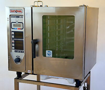 Rational CPC 61G Climaplus Natural Gas Combination Steamer Convection Combi Oven