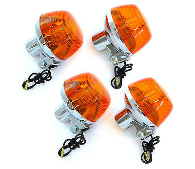 Turn Signal - Single Filament - Set of 4 Honda CB100/125S/200/​350/360/400T/50​0
