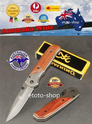 Browning Folding Pocket knife Outdoor knives Camping Hiking Hunting Fishing