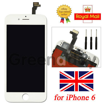 """Screen Replacement For iPhone 6 4.7"""" White LCD Touch Display Assembly Digitizer"""