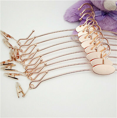 Upscale rose gold no fading metal Tank Top Camisoles Lingerie Bra cloth hangers