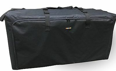 Zohzo Standard or Double / Dual Stroller Travel Carrying Bag (black)