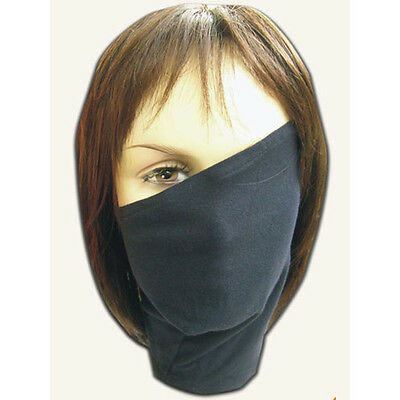 1 Pc Kakashi Face Mask Anime Cosplay NARUTO Hatake With Zipper Prop Gift Black
