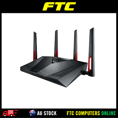 ASUS RT-AC88U Dual-band Wireless-AC3100 Gigabit Router AU STOCK