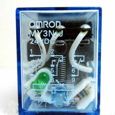 NEW OMRON coil power relay 11pin 3NO 3NC MY3NJ MY3N-J 24VDC