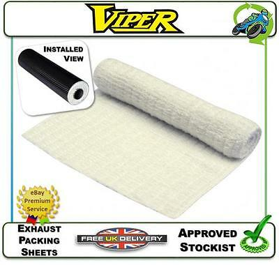 NEW EXHAUST PACKING SHEET SILENCER BAFFLE WADDING 350MM x 1M FITS VIPER & OTHER