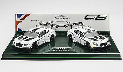 1:43 almost real Bentley Continental GT3 Nurburgring 2015 Drivers selection #7#8