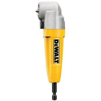 DeWalt Right Angle Drill Adapter Access Tight Attachment 90 Degree Tool Adaptor