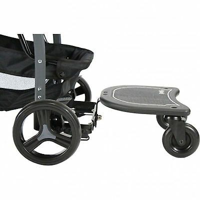 New Red Kite Junior Rider Childs Adjustable Universal Buggy Stroller Board Black