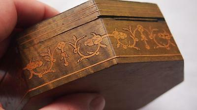 Antique Italian Sorrento Marquetry Box - inlaid Wood - Grand Tour