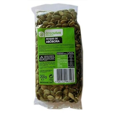 200gr Snack Food Natural & Organic Pumpkin Seeds - Portuguese Product