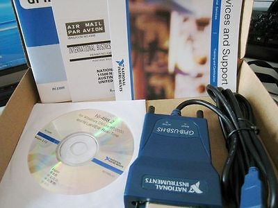 NEW National Instrumens NI GPIB-USB-HS Interface Adapter IEEE 488 New In Box