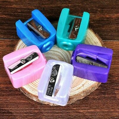 UK Plastic Cosmetic Makeup Pencil Sharpener For Lip Eye Liner Eyebrow HOT Sale