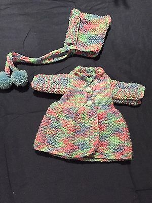 Hand Knitted Dolls Clothes For 12 Inch Doll