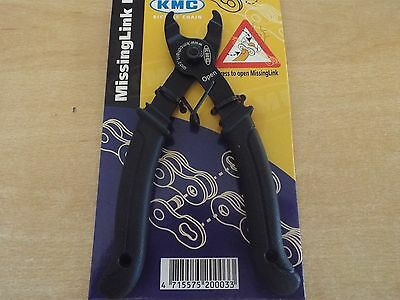 KMC Missing Link Plier Black Bicycle Bike Cycle Chain Link Remover Tool