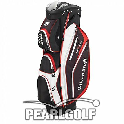 Wilson Staff Nexus Cart Bag - Weiß/rot - Neuware
