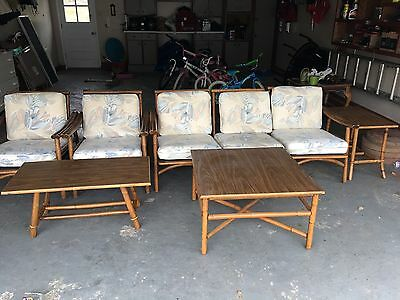 ficks reed furniture- 8 Pieces
