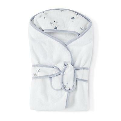 Baby Bath Wrap Hooded Towel Aden and Anais Cotton Terry Muslin New Twinkle